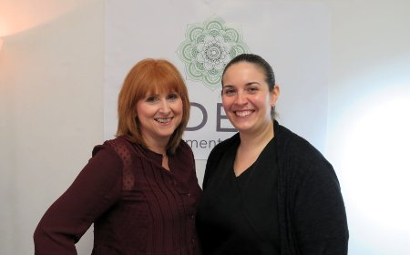 Sarah and Elaine from Eden Treatment Rooms